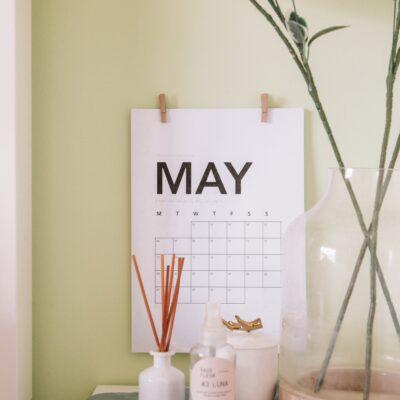 Mayıs Ayı Etkinlik Takvimi #Ajanda